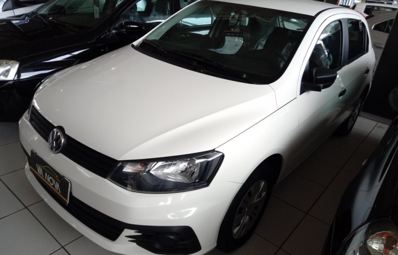 VOLKSWAGEN GOL 2017 1.0 12V MPI TOTALFLEX CITY 4P MANUAL - Carango 79227 - Foto 1