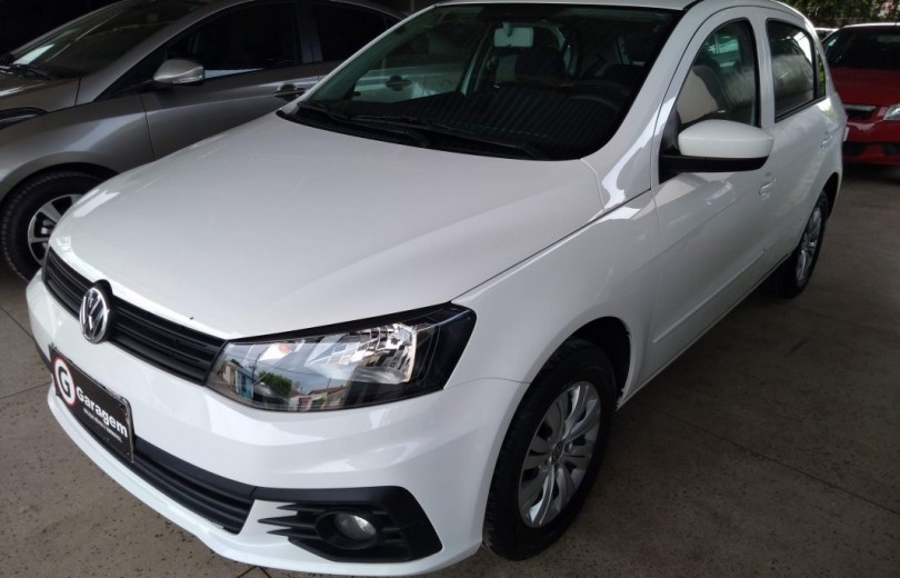 VOLKSWAGEN GOL 2018 1.0 12V MPI TOTALFLEX CITY 4P MANUAL - Carango 79297 - Foto 1