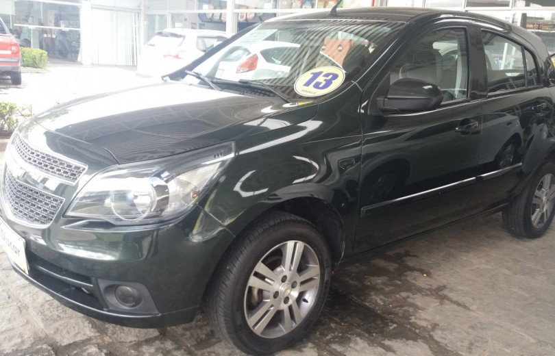 CHEVROLET AGILE 2013 1.4 LTZ CROSSPORT 4P FLEX MANUAL - Carango 80312 - Foto 1