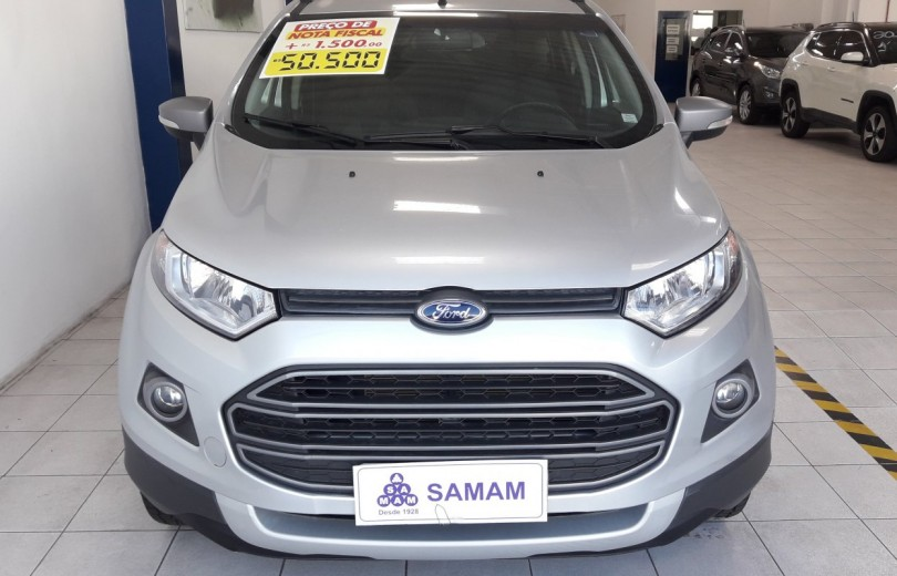 FORD ECOSPORT 2017 1.6 FREESTYLE 8V FLEX 4P MANUAL - Carango 80271 - Foto 2