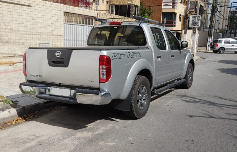 NISSAN FRONTIER 2013 2.5 SV ATTACK 4X4 CD TURBO ELETRONIC DIESEL 4P MANUAL - Carango 80398 - Foto 3