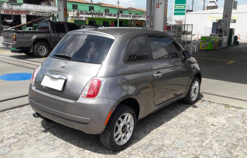 FIAT 500 2012 1.4 CULT 8V FLEX 2P MANUAL - Carango 81407 - Foto 4