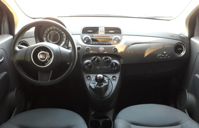 FIAT 500 2012 1.4 CULT 8V FLEX 2P MANUAL - Carango 81407 - Foto 7