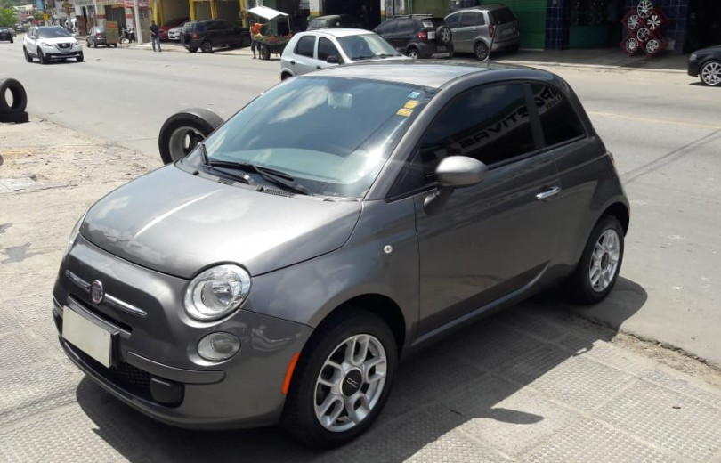 FIAT 500 2012 1.4 CULT 8V FLEX 2P MANUAL - Carango 81407 - Foto 1