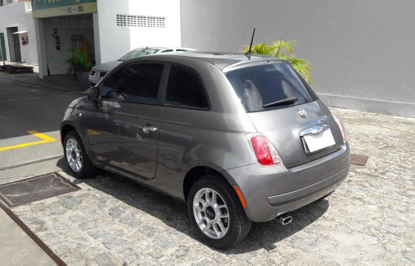 FIAT 500 2012 1.4 CULT 8V FLEX 2P MANUAL - Carango 81407 - Foto 6