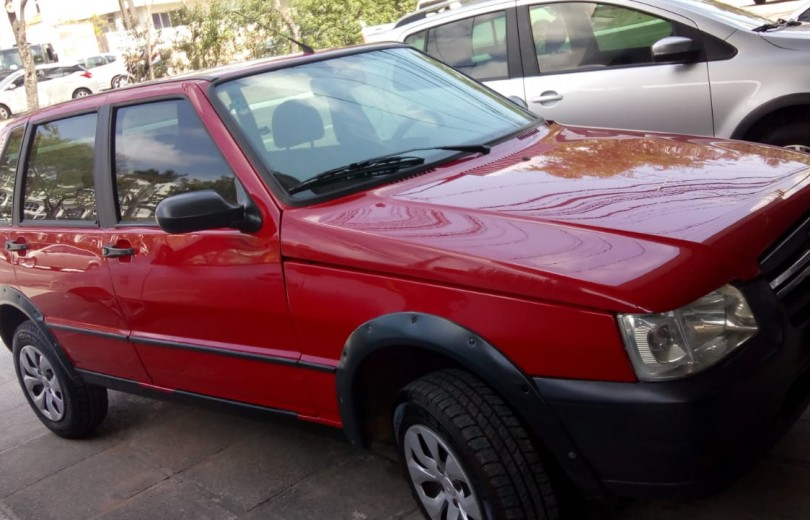 FIAT UNO 2008 1.0 MPI MILLE FIRE WAY ECONOMY CELEBRATION 8V FLEX 4P - Carango 81559 - Foto 5