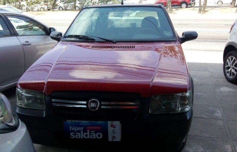 FIAT UNO 2008 1.0 MPI MILLE FIRE WAY ECONOMY CELEBRATION 8V FLEX 4P - Carango 81559 - Foto 2