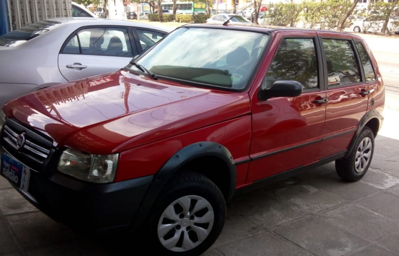 FIAT UNO 2008 1.0 MPI MILLE FIRE WAY ECONOMY CELEBRATION 8V FLEX 4P - Carango 81559 - Foto 1