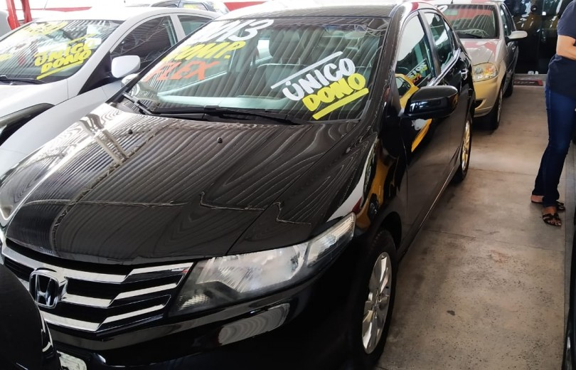 HONDA CITY 2013 1.5 DX 16V FLEX 4P MANUAL - Carango 81425 - Foto 1