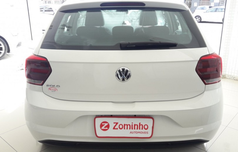 VOLKSWAGEN POLO 2018 1.0 MPI TOTAL FLEX MANUAL - Carango 81750 - Foto 4