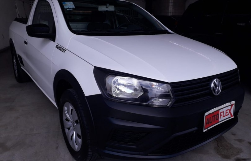 VOLKSWAGEN SAVEIRO 2018 1.6 MSI ROBUST CS 8V FLEX 2P MANUAL - Carango 81652 - Foto 9