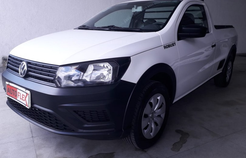 VOLKSWAGEN SAVEIRO 2018 1.6 MSI ROBUST CS 8V FLEX 2P MANUAL - Carango 81652 - Foto 1