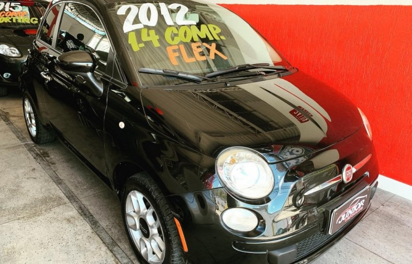 FIAT 500 2012 1.4 CULT 8V FLEX 2P MANUAL - Carango 83238 - Foto 5