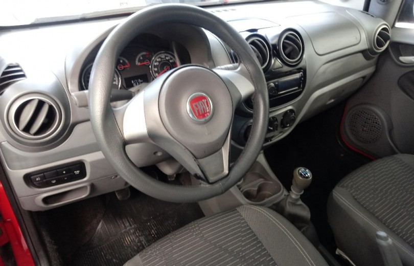 FIAT PALIO 2013 1.0 MPI ATTRACTIVE 8V FLEX 4P MANUAL - Carango 82494 - Foto 6