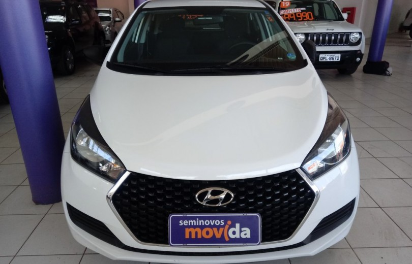 HYUNDAI HB20 2019  1.0 UNIQUE 12V FLEX 4P MANUAL - Carango 83118 - Foto 2