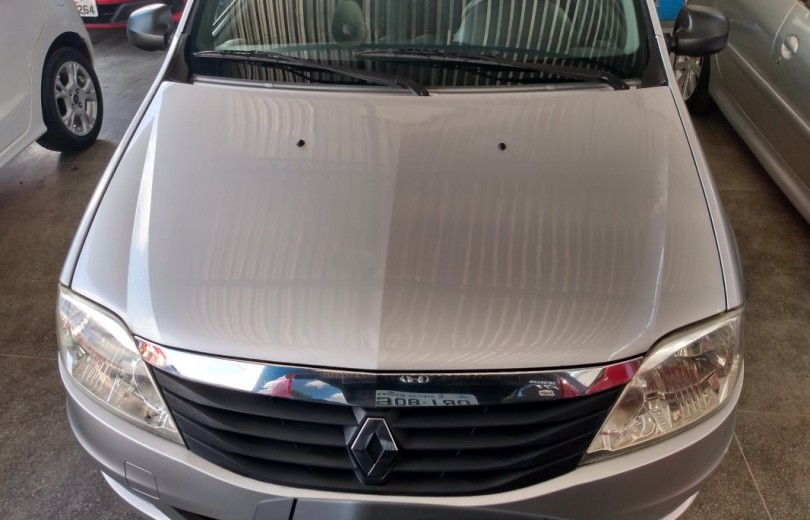 RENAULT LOGAN 2012 1.0 AUTHENTIQUE 16V HI-FLEX 4P MANUAL - Carango 82643 - Foto 2