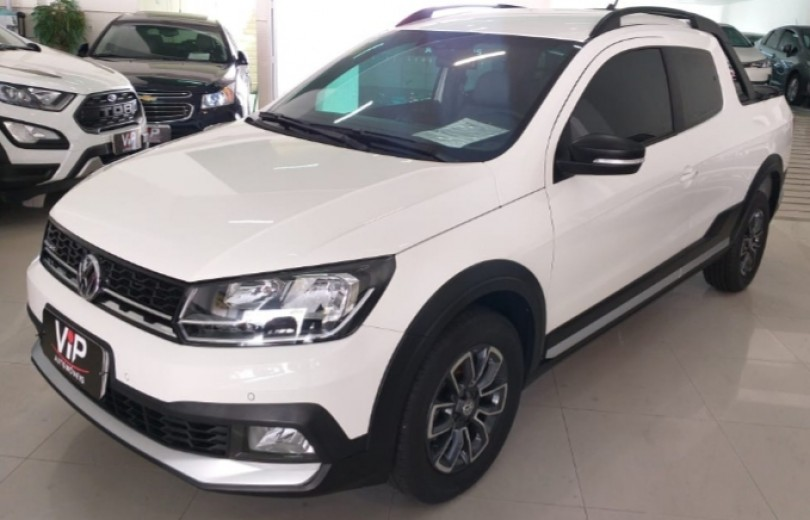 VOLKSWAGEN SAVEIRO 2018 1.6 CROSS CD 16V FLEX 2P MANUAL - Carango 82454 - Foto 1