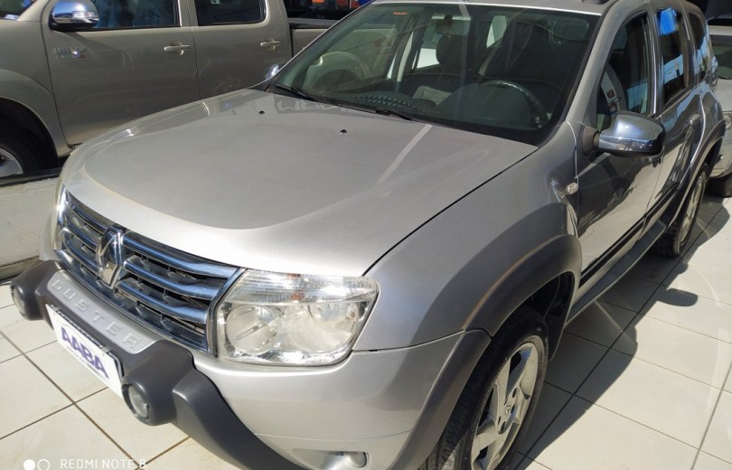 RENAULT DUSTER 2013 1.6 DYNAMIQUE 4X2 16V FLEX 4P MANUAL - Carango 83437 - Foto 1