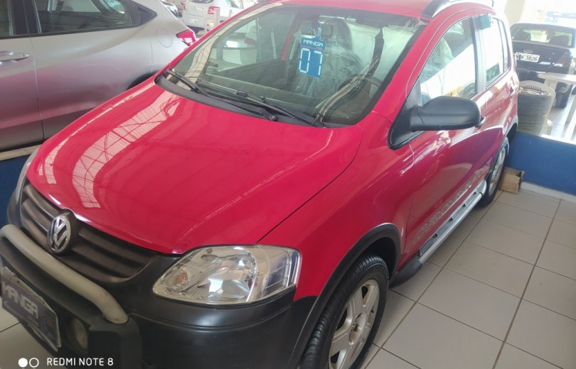 VOLKSWAGEN CROSSFOX 2007 1.6 MI 8V TOTAL FLEX 4P MANUAL - Carango 81631 - Foto 1