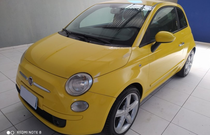 FIAT 500 2010 1.4 LOUNGE 16V GASOLINA 2P MANUAL - Carango 84430 - Foto 1