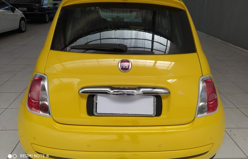 FIAT 500 2010 1.4 LOUNGE 16V GASOLINA 2P MANUAL - Carango 84430 - Foto 4