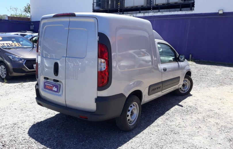 FIAT FIORINO 2019 1.4 MPFI FURGÃO HARD WORKING  8V FLEX 2P MANUAL - Carango 84613 - Foto 5