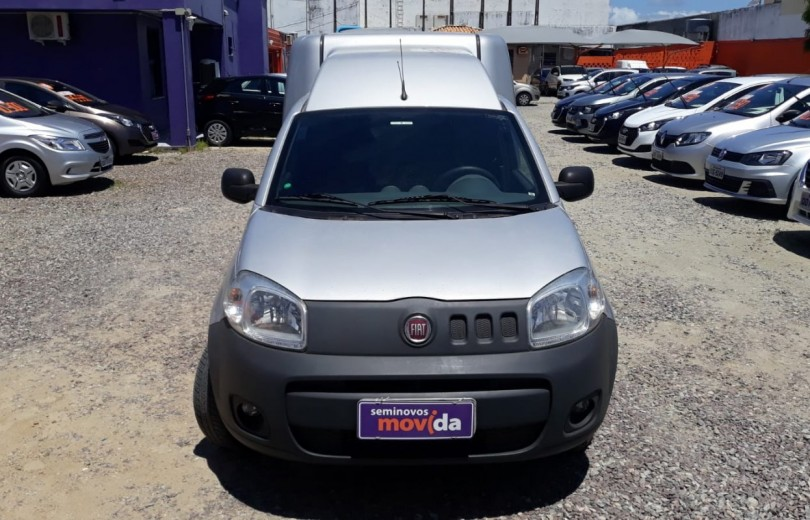 FIAT FIORINO 2019 1.4 MPFI FURGÃO HARD WORKING  8V FLEX 2P MANUAL - Carango 84613 - Foto 2