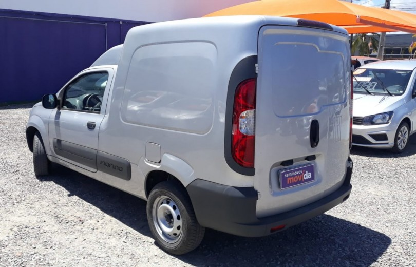 FIAT FIORINO 2019 1.4 MPFI FURGÃO HARD WORKING  8V FLEX 2P MANUAL - Carango 84613 - Foto 4
