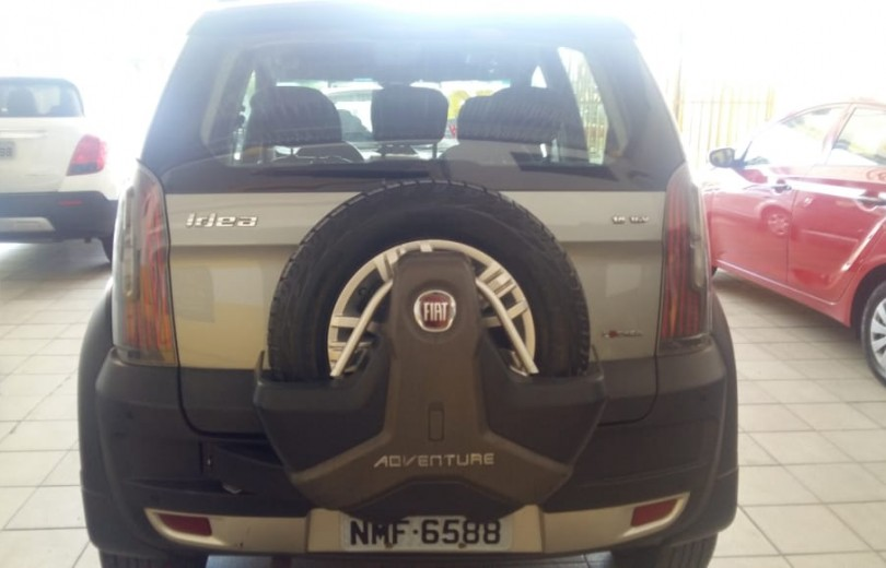 FIAT IDEA 2011 1.8 MPI ADVENTURE 16V FLEX 4P MANUAL - Carango 84349 - Foto 4