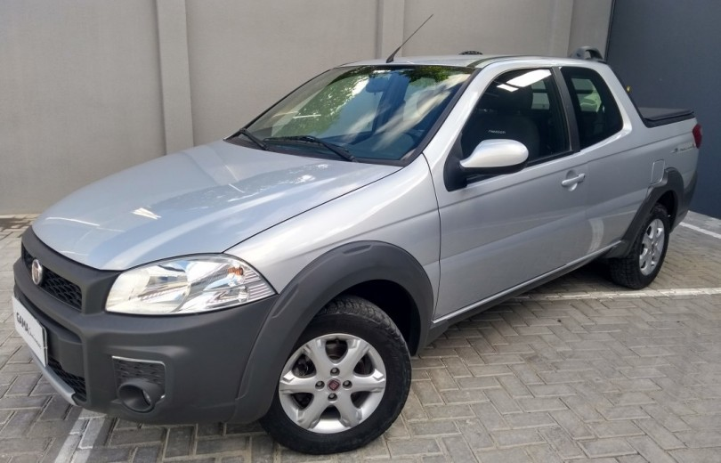 FIAT STRADA 2019 1.4 MPI FREEDOM CD 8V FLEX 3P MANUAL - Carango 84623 - Foto 1