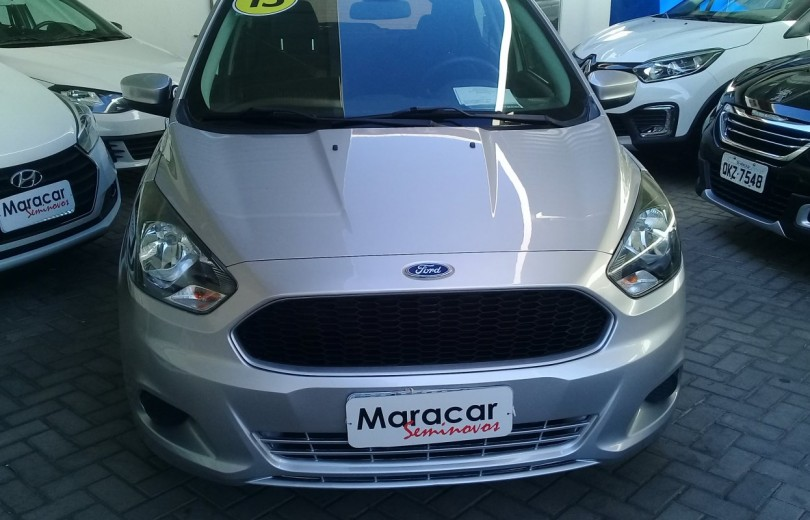 FORD KA 2015 1.0 SE PLUS 12V FLEX 4P MANUAL - Carango 84241 - Foto 2