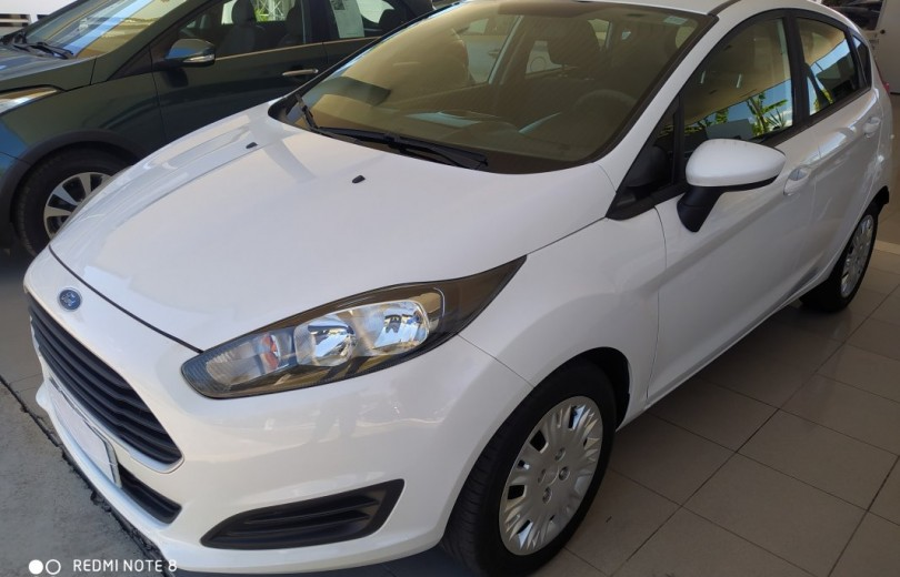 FORD NEW FIESTA 2014 1.5 S HATCH 16V FLEX 4P MANUAL - Carango 84422 - Foto 1
