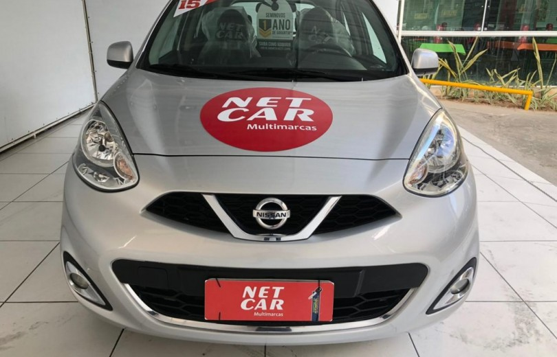 NISSAN MARCH 2015 1.6 SV 12V FLEX 4P MANUAL - Carango 84179 - Foto 2