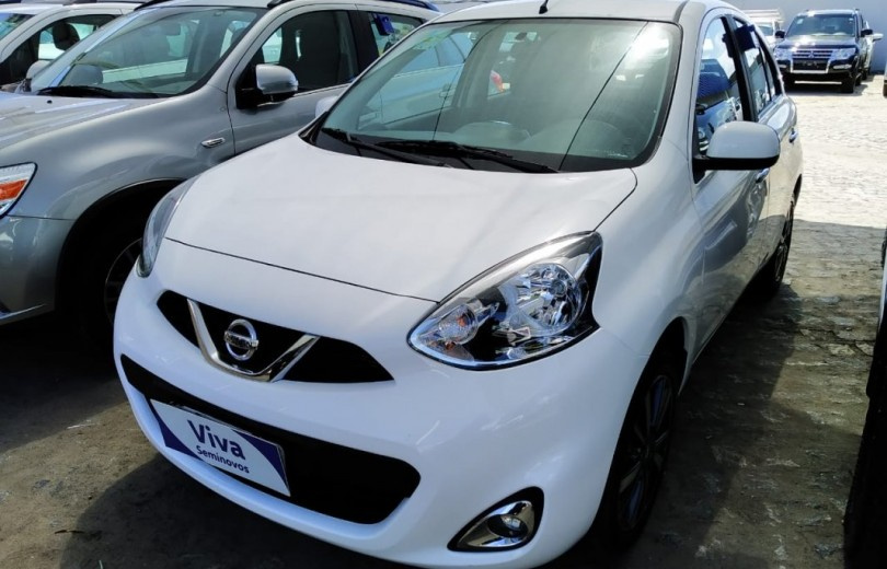 NISSAN MARCH 2018 1.6 SL 16V FLEX 4P AUT. - Carango 84357 - Foto 1