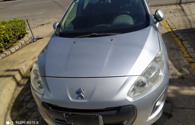 PEUGEOT 308 2013 1.6 ALLURE 16V FLEX 4P MANUAL - Carango 84225 - Foto 8
