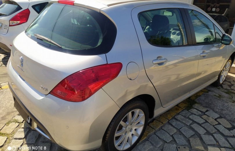 PEUGEOT 308 2013 1.6 ALLURE 16V FLEX 4P MANUAL - Carango 84225 - Foto 3