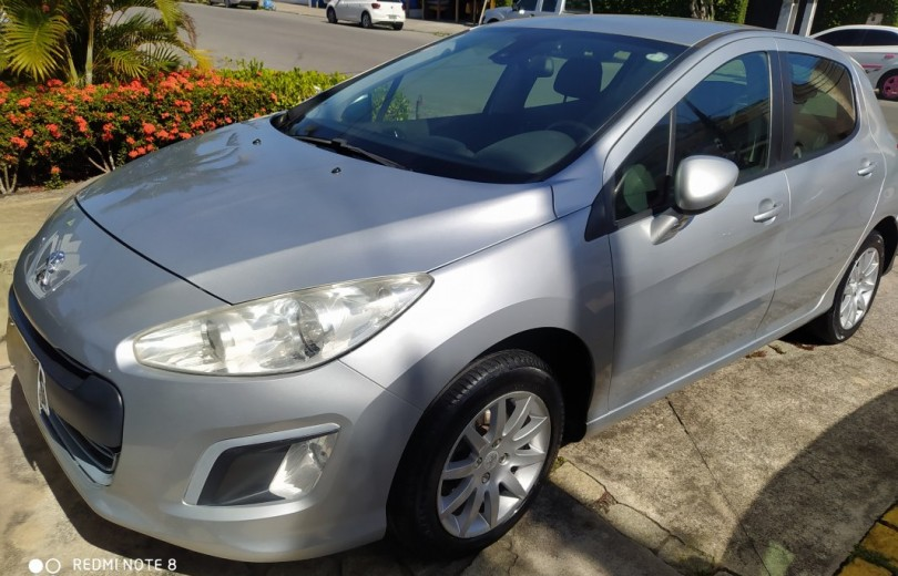 PEUGEOT 308 2013 1.6 ALLURE 16V FLEX 4P MANUAL - Carango 84225 - Foto 9