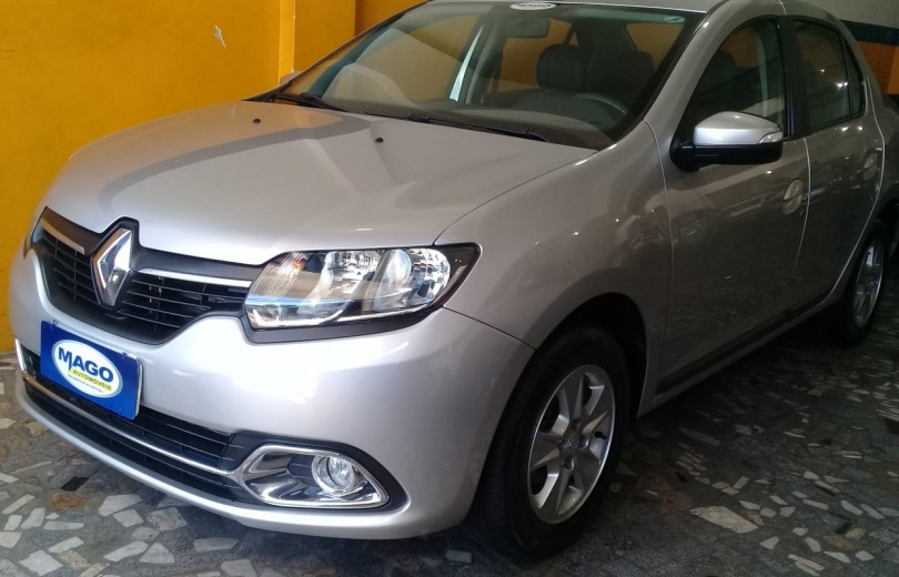 RENAULT LOGAN 2015 1.6 DYNAMIQUE 8V FLEX 4P MANUAL  - Carango 84353 - Foto 1