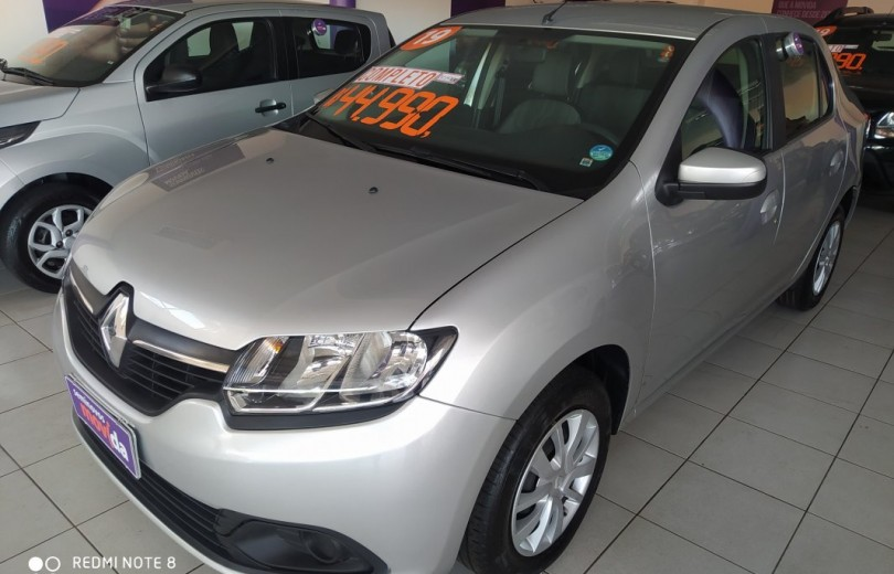 RENAULT LOGAN 2019 1.6 EXPRESSION 8V HI-FLEX 4P MANUAL - Carango 84172 - Foto 1
