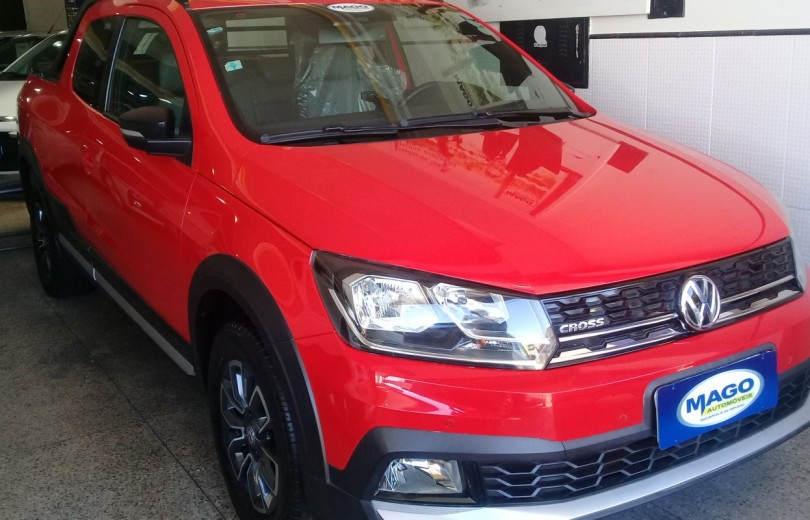 VOLKSWAGEN SAVEIRO 2018 1.6 CROSS CD 16V FLEX 2P MANUAL - Carango 84351 - Foto 1