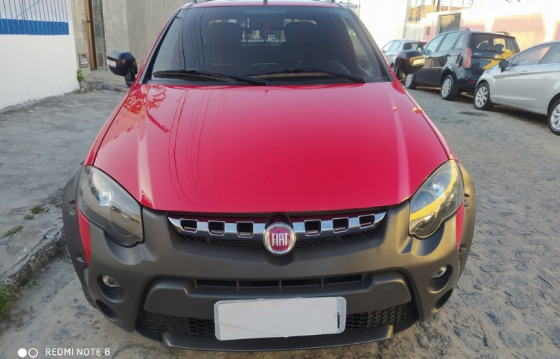 FIAT STRADA 2018 1.8 MPI ADVENTURE CD 16V FLEX 3P MANUAL - Carango 85352 - Foto 2