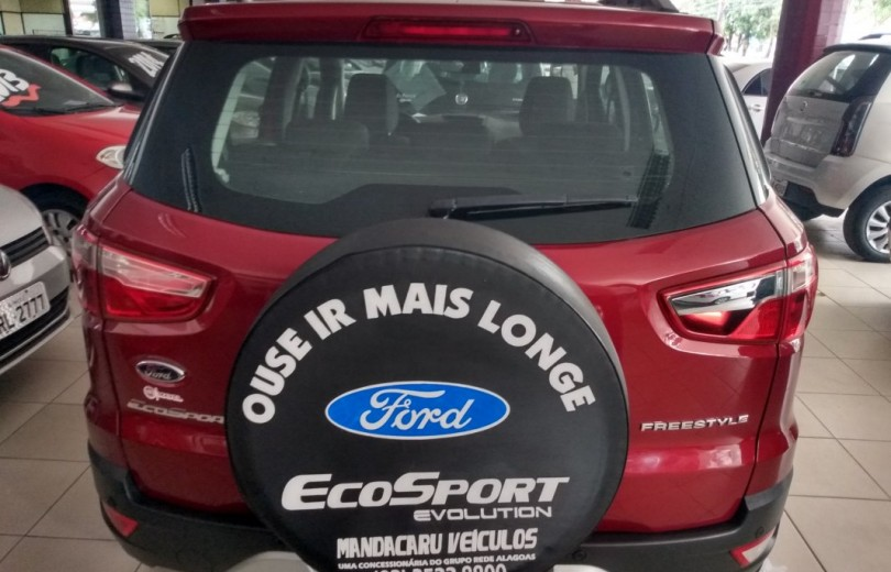 FORD ECOSPORT 2015 1.6 FREESTYLE 16V FLEX 4P MANUAL - Carango 85500 - Foto 4