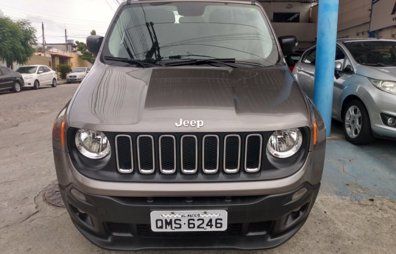 JEEP RENEGADE 2018 1.8 16V FLEX SPORT 4P MANUAL - Carango 85515 - Foto 2