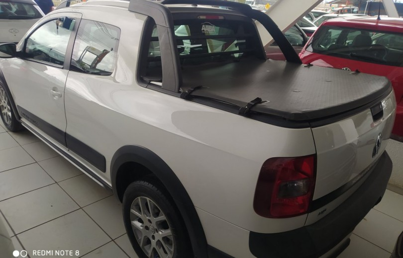 VOLKSWAGEN SAVEIRO 2015 1.6 CROSS CD 16V TOTAL FLEX 2P MANUAL - Carango 85357 - Foto 4