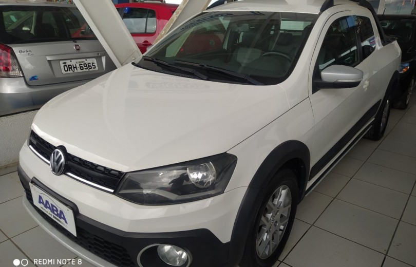 VOLKSWAGEN SAVEIRO 2015 1.6 CROSS CD 16V TOTAL FLEX 2P MANUAL - Carango 85357 - Foto 1