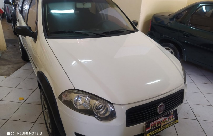 FIAT PALIO 2009 1.4 MPI TREKKING WEEKEND 8V FLEX 4P MANUAL - Carango 86315 - Foto 2