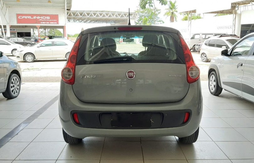 FIAT PALIO 2014 1.0 MPI ATTRACTIVE 8V FLEX 4P MANUAL - Carango 86485 - Foto 4