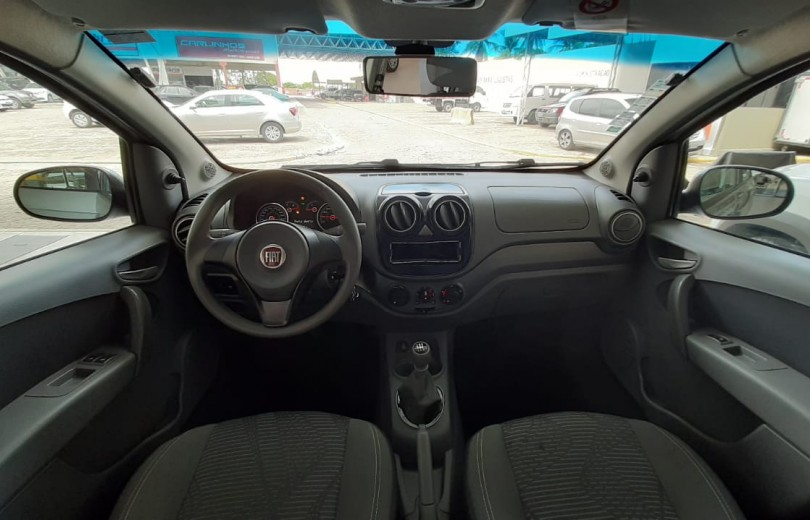 FIAT PALIO 2014 1.0 MPI ATTRACTIVE 8V FLEX 4P MANUAL - Carango 86485 - Foto 6