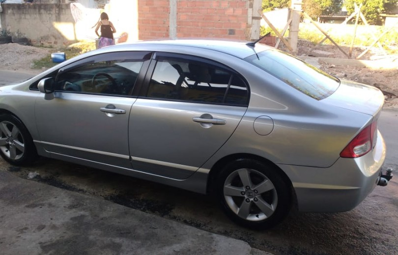 HONDA CIVIC 2008 1.8 LXS SEDAN 16V FLEX 4P MANUAL - Carango 85608 - Foto 10