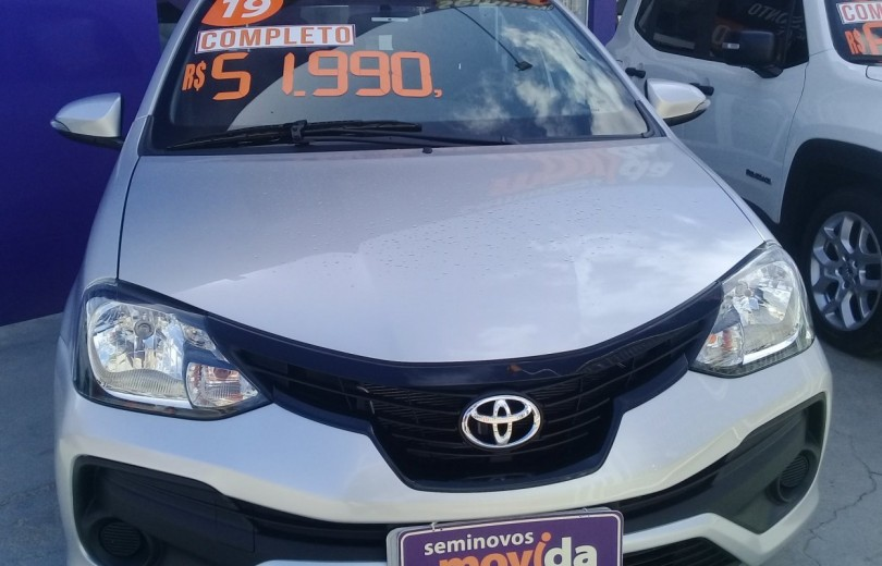 TOYOTA ETIOS 2019 1.5 X SEDAN 16V FLEX 4P MANUAL - Carango 86201 - Foto 2